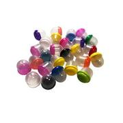 """250 - 1"""" Empty Acorn Bulk Vending Machine Capsule Bubbles, Acorn Capsules Are"""