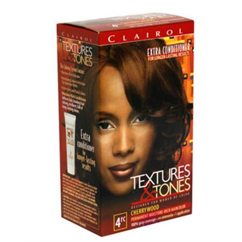 Clairol Textures & Tones 4RC Cherrywood, 1 ea (Pack of 2)
