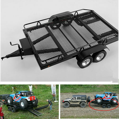 Xtra Speed 1:10 Heavy Duty Truck and RC Cars Trailer Crawler Truck EP (Car Hauler Truck And Trailer For Sale)