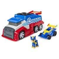 PAW Patrol, Ready, Race, Rescue Mobile Pit Stop Team Vehicle with Sounds, for Kids Aged 3 and Up