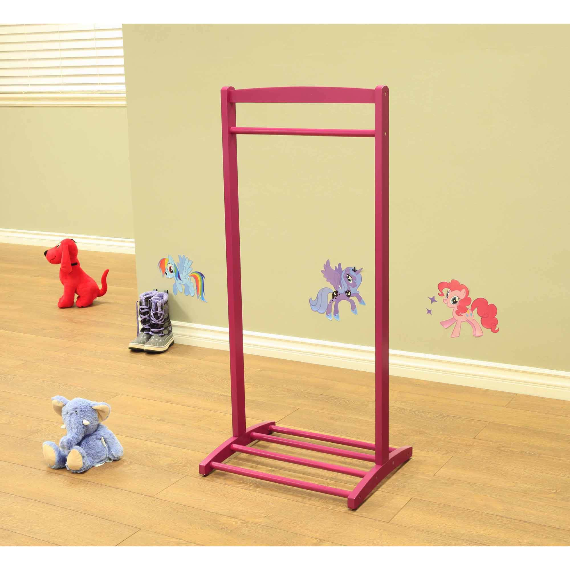 Home Craft Kids' Clothes Rack, Purple by Generic