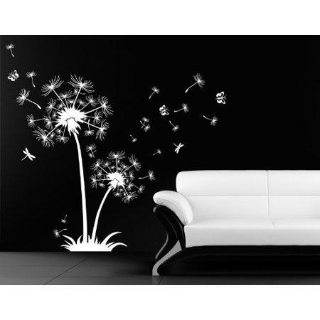 Dandelion de Luxe Wall Decal wall decal sticker mural vinyl art home d