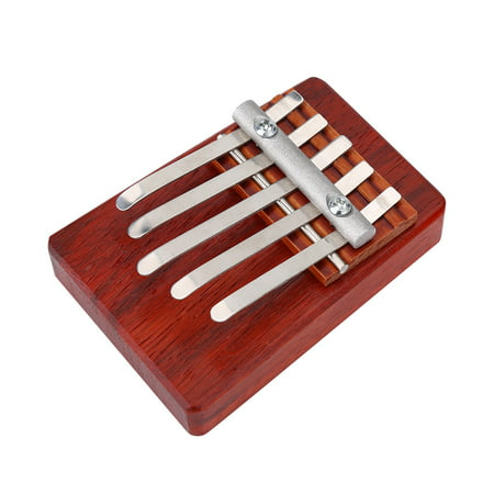 5 Tool Training (WALFRONT Traditional Finger Thumb Piano for Children Musical Instrument Accompaniment Training Tool, 5 Key Piano, 6 Key Thumb Piano )