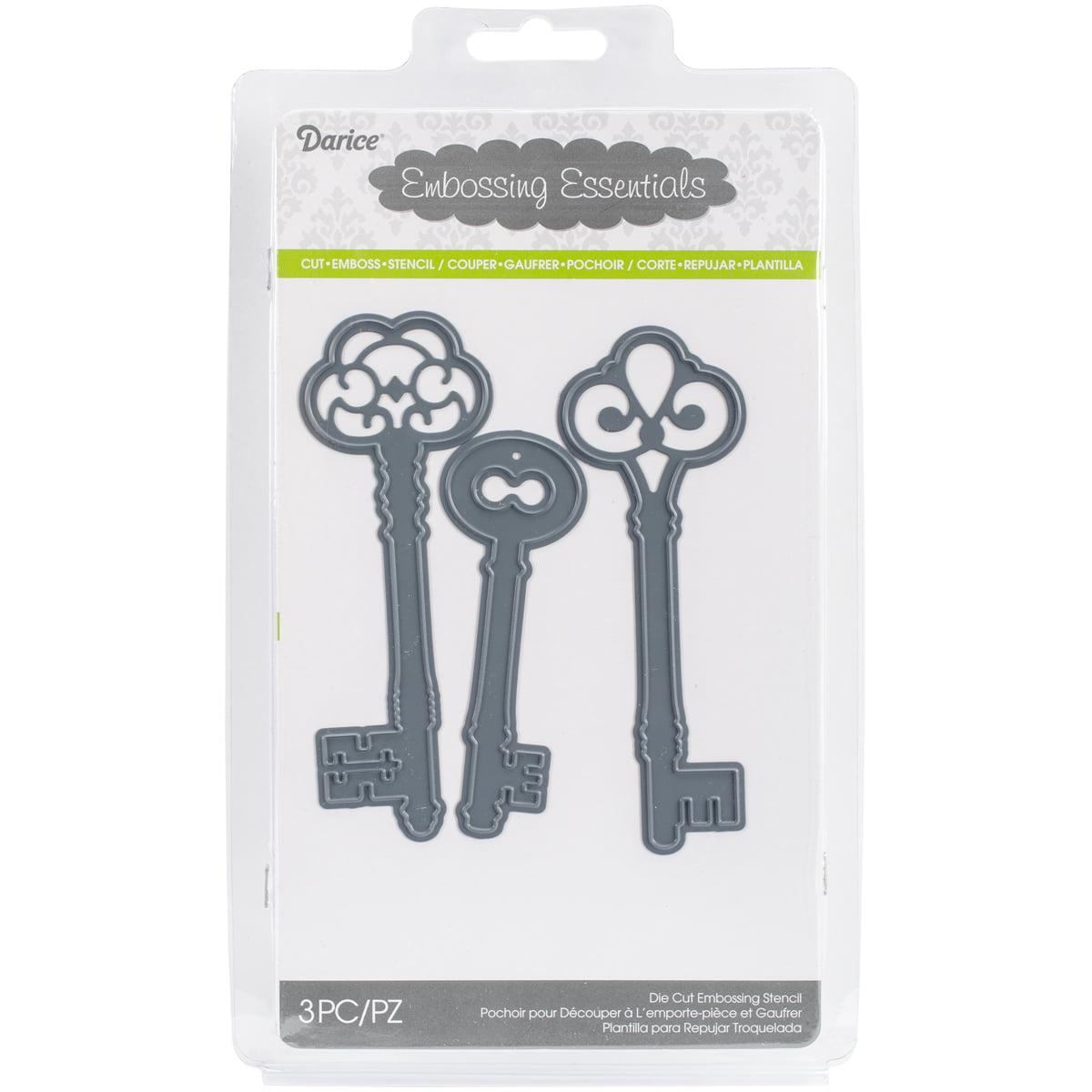 Darice Embossing Essentials Dies Keys