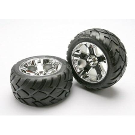 Traxxas 5577R Front All Star Wheels with Anaconda Tire: Jato
