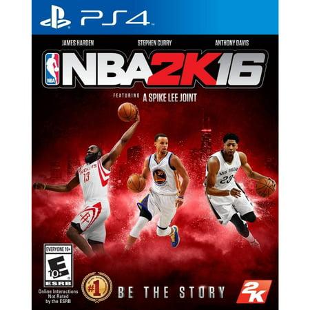 NBA 2K16 (Pre-owned), 2K, PlayStation 4, 886162551235 - Halloween 4 Movie 2k