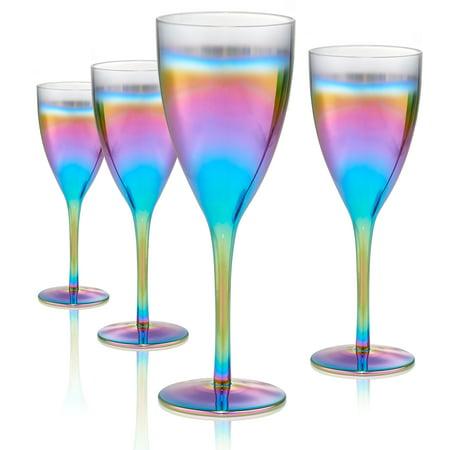 Gold Wine Goblet (Artland Rainbow Goblet S/4, 14Oz)