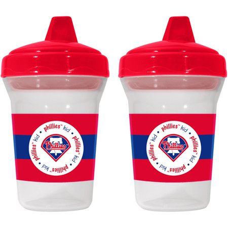 Baby Fanatic Philadelphia Phillies 2 Pack Sippy Cup  Bpa Free