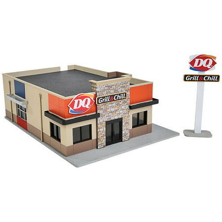 Walthers Cornerstone Ho Scale Building Structure Kit Dairy Queen Grill   Chill