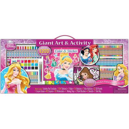 artistic studios disney princess art and activity collection set