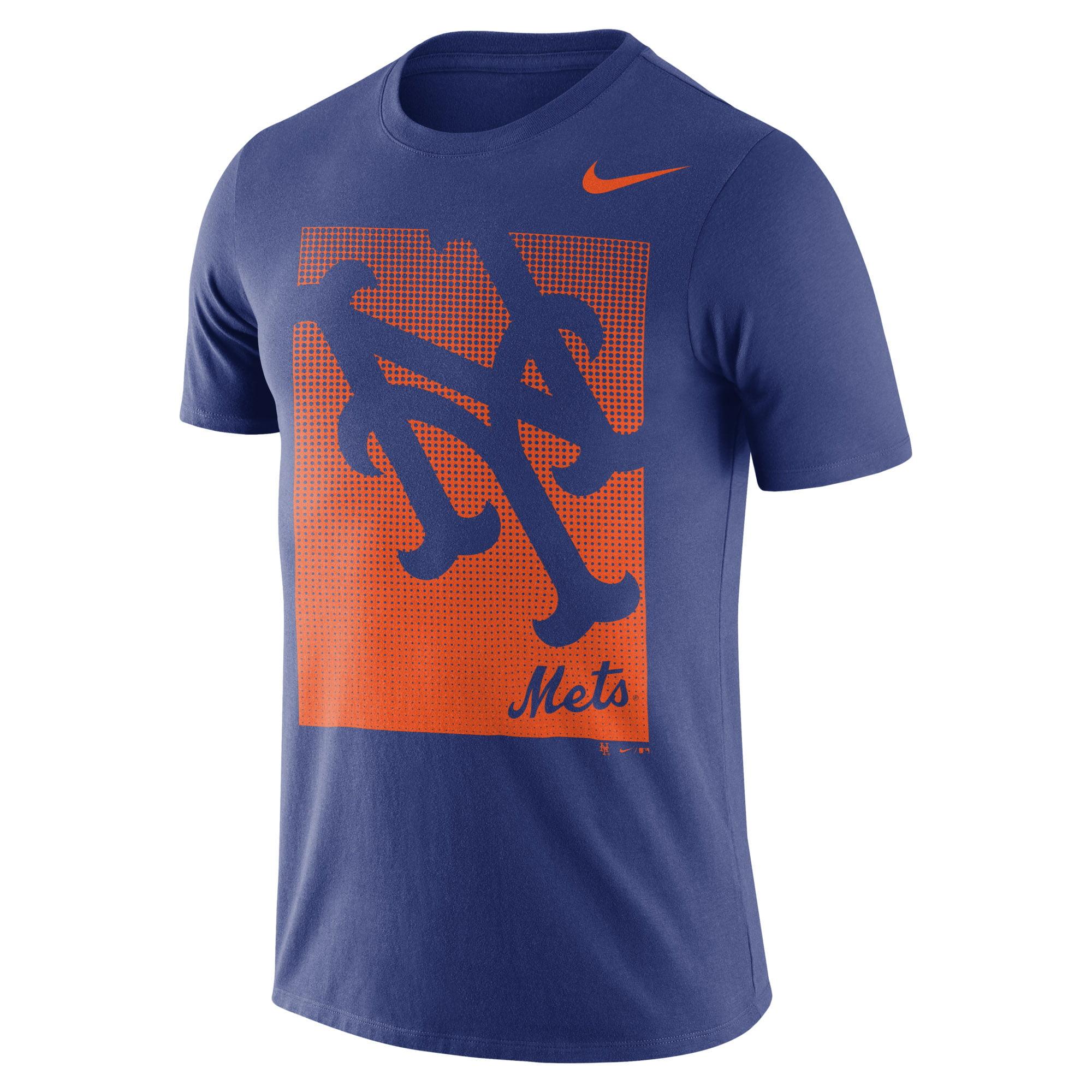 Men's Nike Royal New York Mets Fade T-Shirt