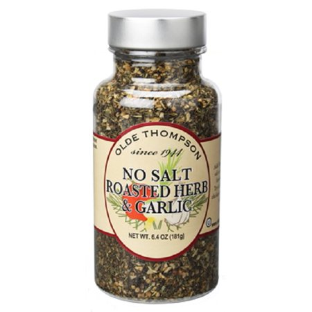 - Olde Thompson 1400-66 No Salt Roasted Herb and Garlic, 6.4 Ounce