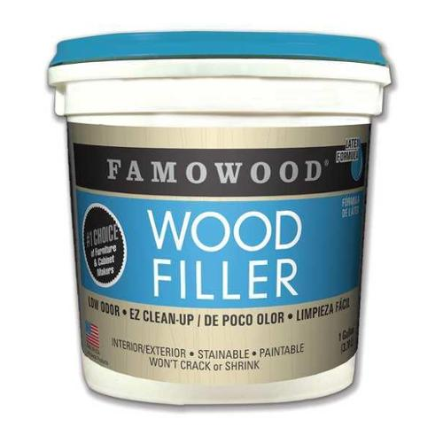FAMOWOOD 40002118 Wood Filler, 1 gal., Fir-Maple, Pail