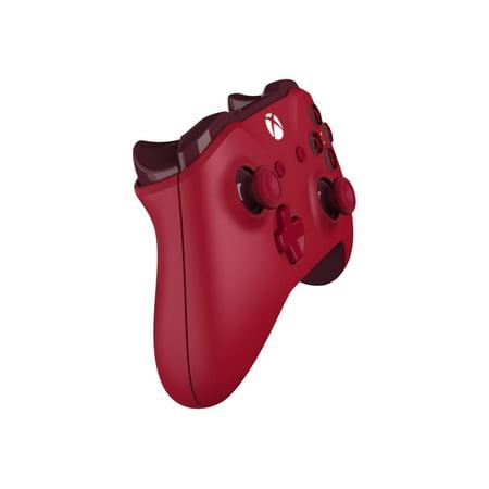 Refurbished Microsoft Xbox One Wireless Controller, Red, WL3-00027