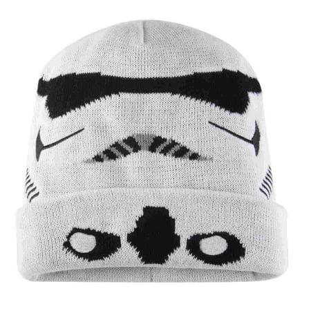 Star Wars - Mens White Storm Trooper Beanie Star Wars Stocking Cap Winter  Hat - Walmart.com ec947cb1116