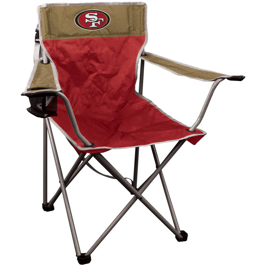 NFL San Francisco 49ers Halftime Quad Chair by Rawlings