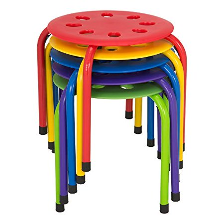 Terrific Norwood Commercial Furniture Nor Auh1200Ac So Plastic Stack Stools 12 Height Pack Of 5 Onthecornerstone Fun Painted Chair Ideas Images Onthecornerstoneorg