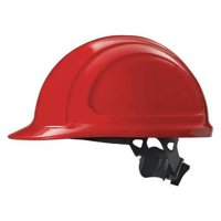 HONEYWELL NORTH Hard Hat,4 pt. Ratchet,Red N10R150000
