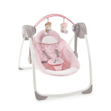 Ingenuity Comfort 2 Go Portable Compact Swing with TrueSpeed - Audrey