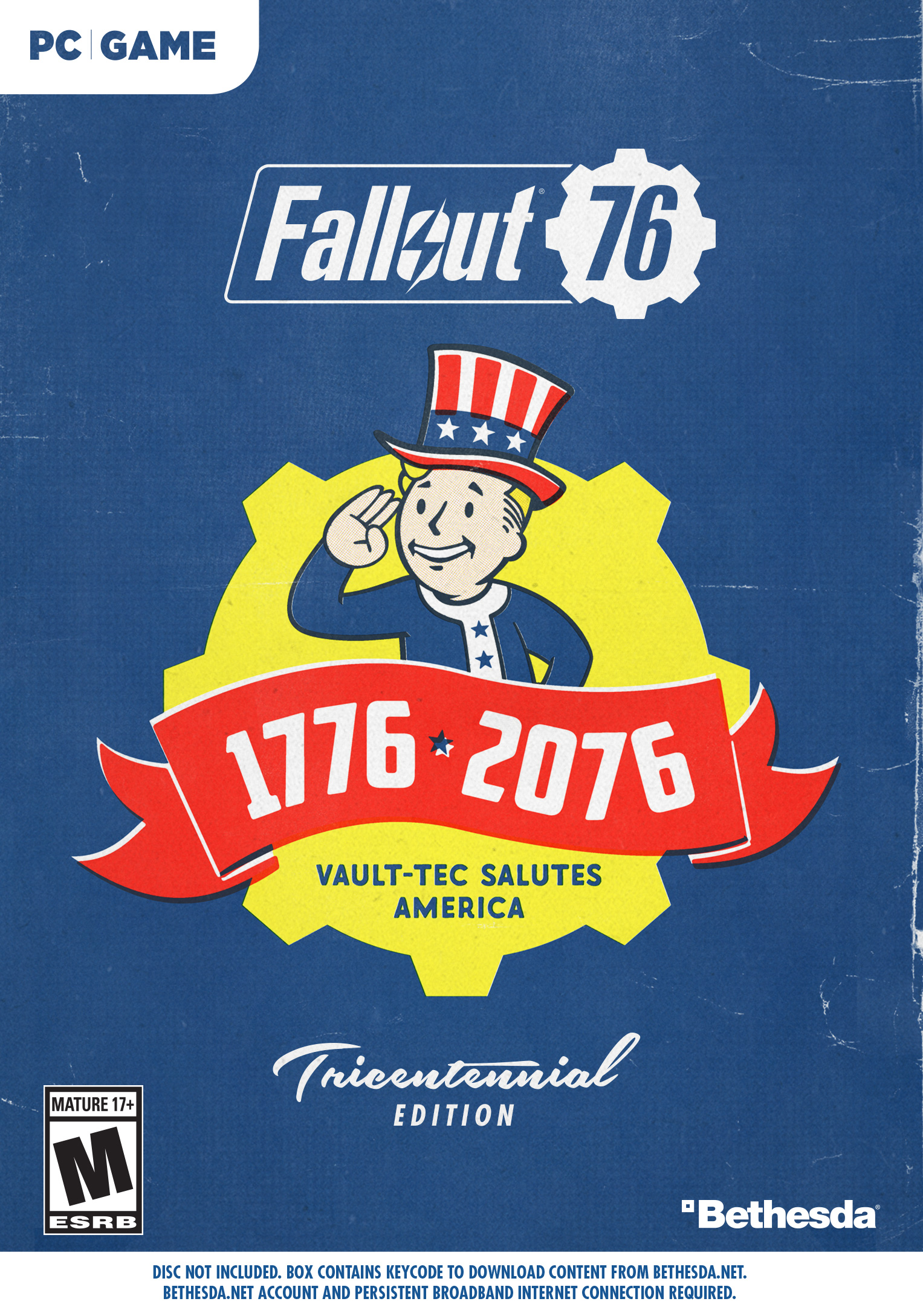 Fallout 76 Deluxe Edition, Bethesda, PC, 093155173125