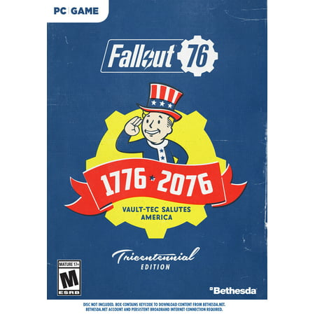Fallout 76 Deluxe Edition, Bethesda, PC,