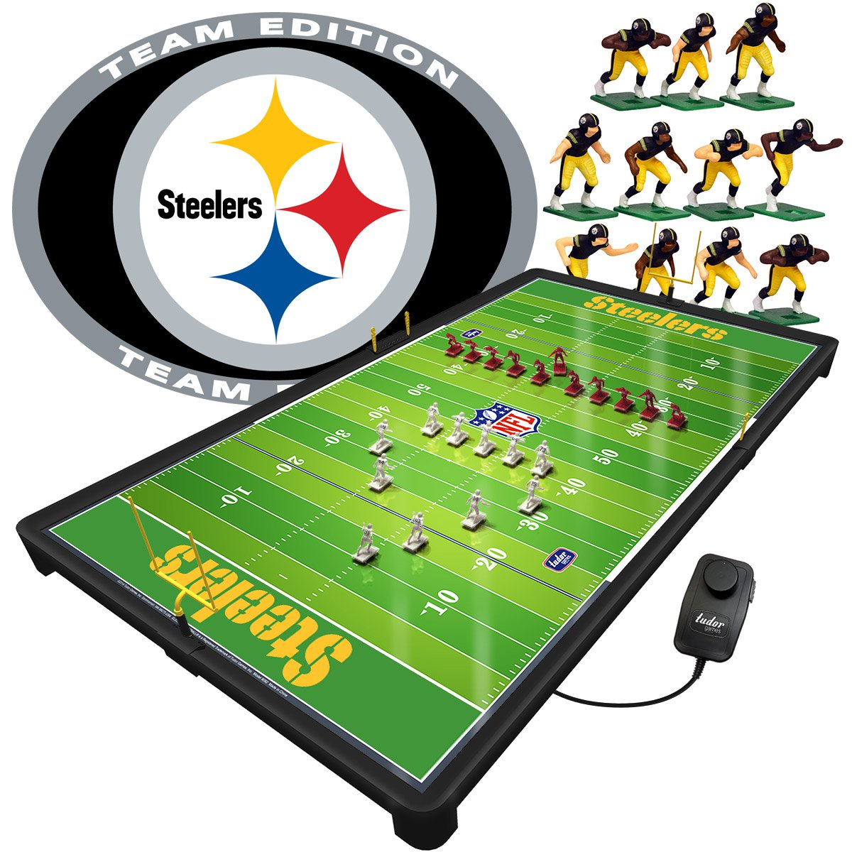 Pittsburgh Steelers NFL Pro Bowl Electric Football Game Set