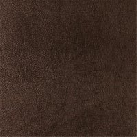 Designer Fabrics G358 54 in. Wide Chocolate Brown, Metallic Leather Grain Upholstery Faux Leather