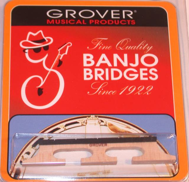 Grover Lot of 2 Minstrel Banjo Bridge #72 1 2 5-String, 72 ^2 by Grover