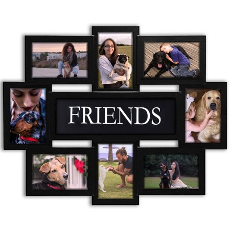 DL furniture - Photo Frame 22x17 Wood Tone Friends Picture Frame ...