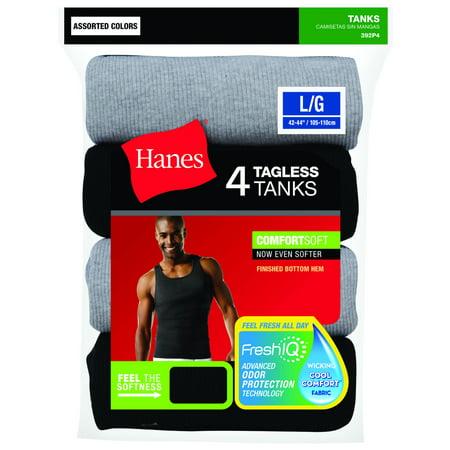 0e9bd6d54e076 Men s 4-Pack Assorted A-Shirt - Best Mens Underwear   Undershirts