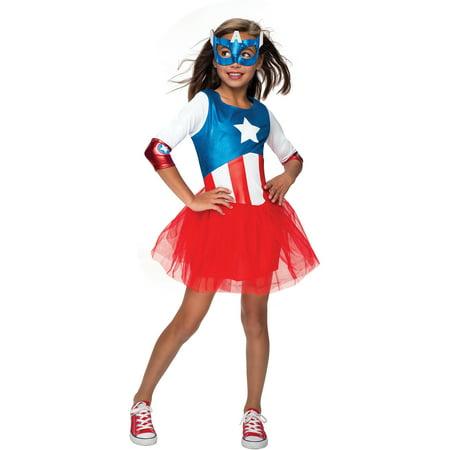 American Dream Metallic Child Halloween Costume
