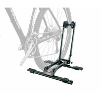 Bike Bicycle Deluxe Storage Double Supporter Floor Stand Rack