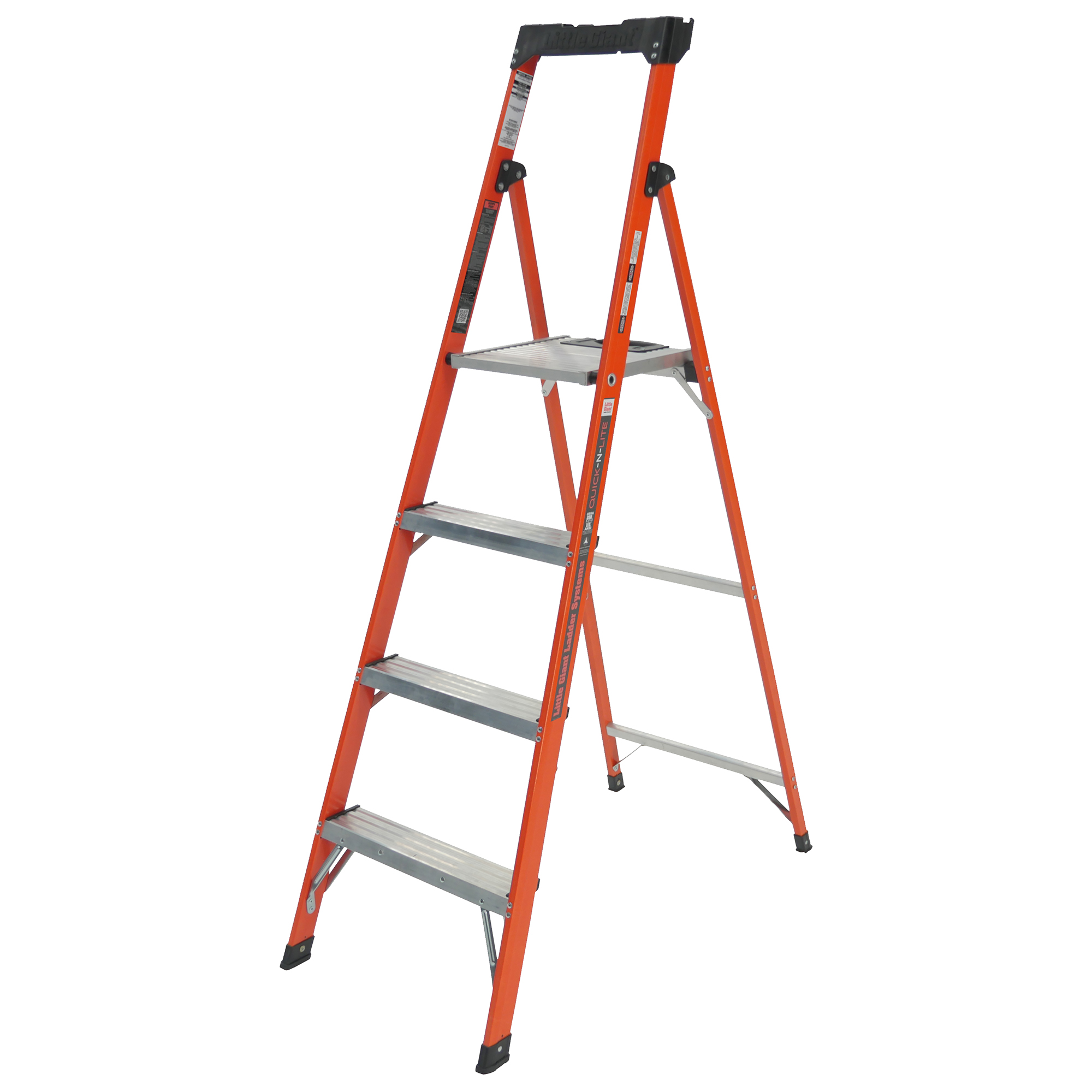 Little Giant Quick-N-Lite, Model 6' Type I 250.lbs rated, aluminum stepladder by Wing Enterprises, Inc.