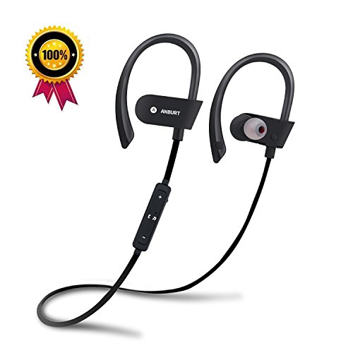 Bluetooth earphones neckband deep bass - sport earphones bluetooth