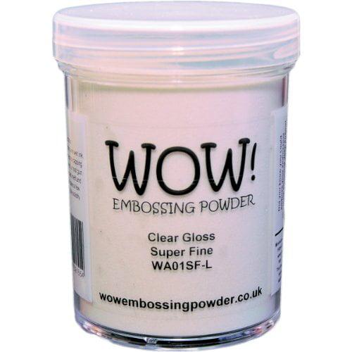 WOW! Embossing Powder Super Fine 15ml-Clear Gloss Multi-Colored