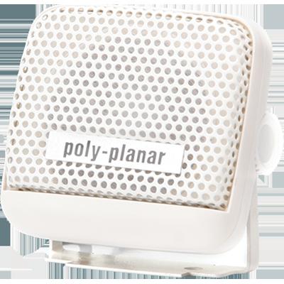 Poly Planar Mb 21 W External Vhf Speaker 2 75 Bracket White Walmart Com Walmart Com