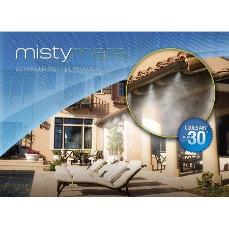 Outdoor Mist Cooling Patio Pre-Assembled Easy to Install Micro Mist Technology Perfect Backyard Any Outdoor Area (30) ()
