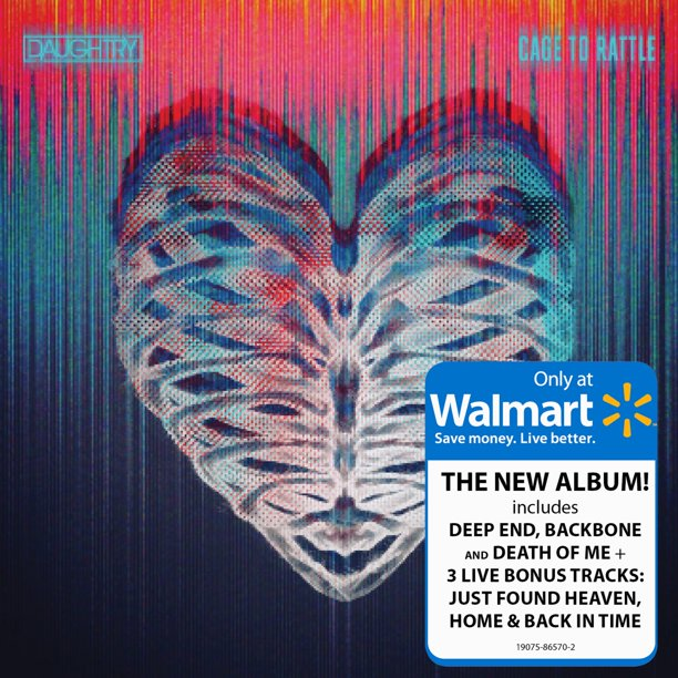 Daughtry - Cage To Rattle (Walmart Exclusive) (CD)