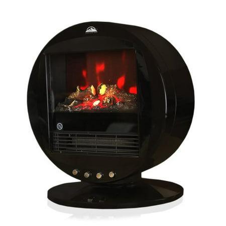Himalayan Heat Portable Fireplace Heater- Red