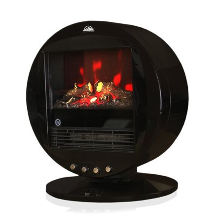 Himalayan Heat Portable Fireplace Heater- Red