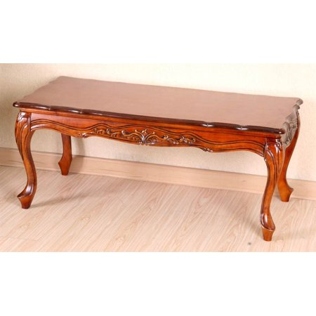 Hand carved wood coffee table Hand carved coffee table
