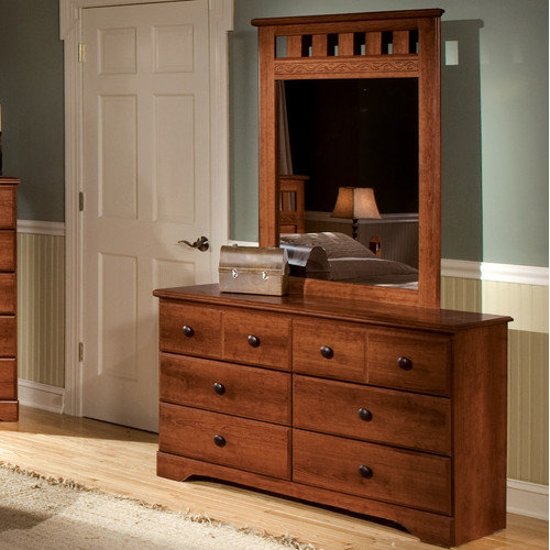Standard Furniture Orchard Park 6 Drawer Dresser