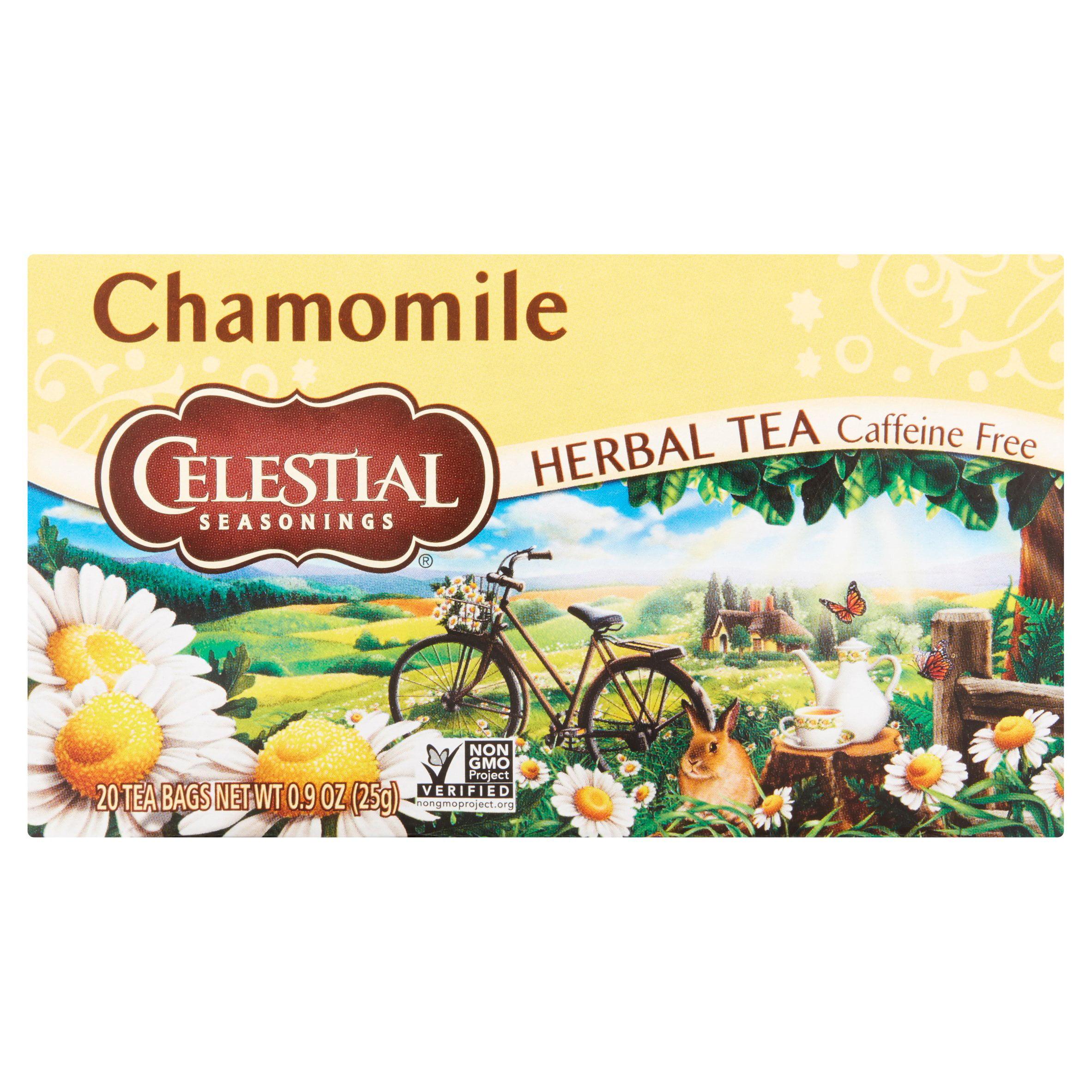 Celestetial Seasonings Chamomile Herbal Tea, 20 ct by Celestial Seasonings, Inc.