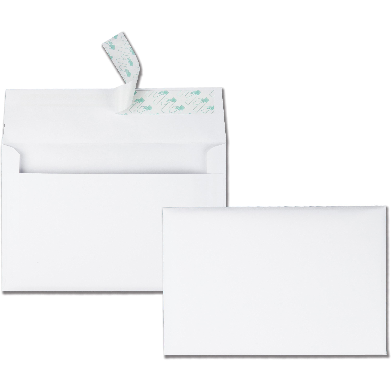 "Quality Park Greeting Card/Invitation Envelopes, 5-3/4"" x 8-3/4"", 100/Box"