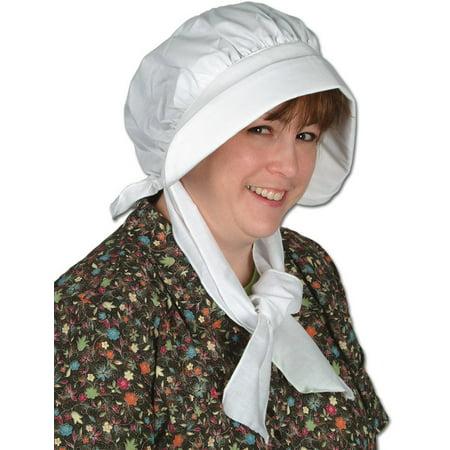 Pilgrim Bonnet Party Accessory (1 count) (1/Pkg) - Pilgrim Bonnet