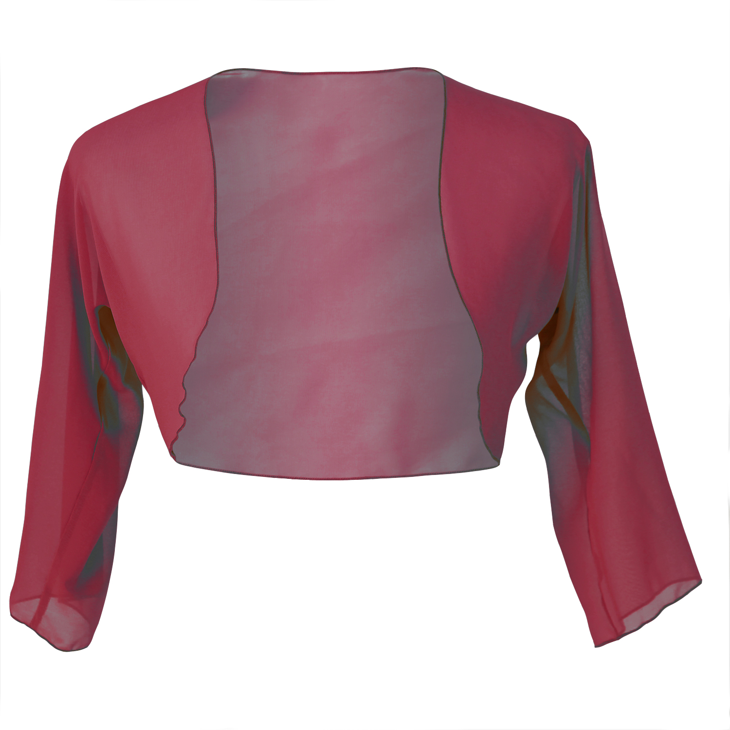 Faship Chiffon 3/4 Sleeve Bolero Shrug Cardigan Top