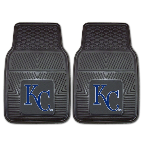 "Kansas City Royals 2-pc Vinyl Car Mats 17""x27"""
