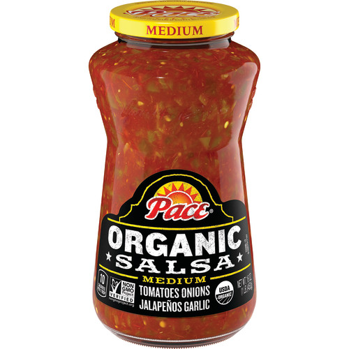 (3 Pack) Pace Organic Salsa Medium, 16 oz.