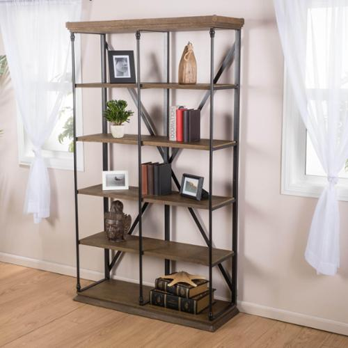 Christopher Knight Home Appleton Five-Shelf Industrial Bookcase by