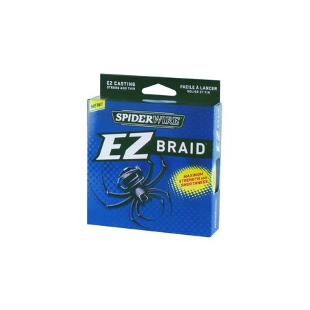 Spiderwire ez braid fishing line moss green for Walmart braided fishing line